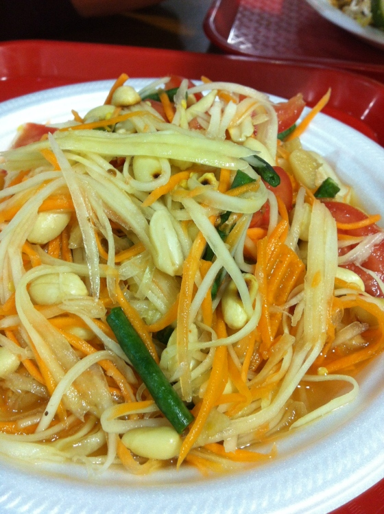 Papaya Salad (Som Tam) $7.95