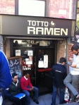Totto Ramen in Hell's Kitchen, NYC