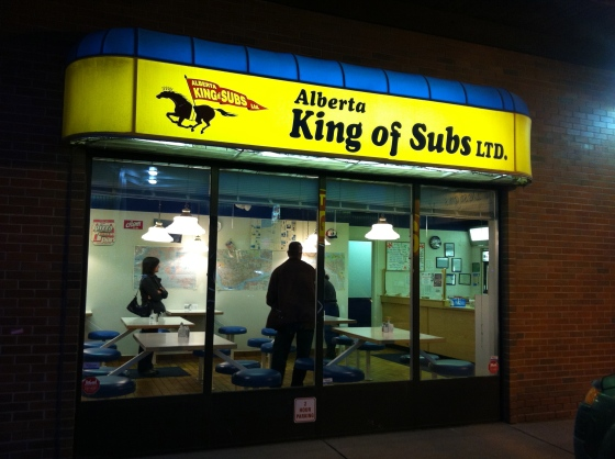 Alberta King of Subs